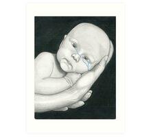 Crying Baby Art Print