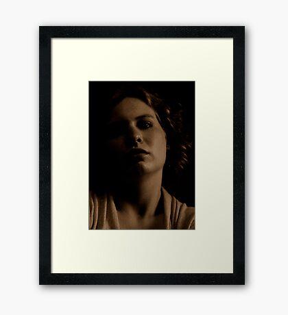 JEN in natural light Framed Print