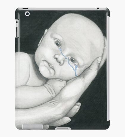 Crying Baby iPad Case/Skin