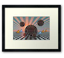 Dream sailing Framed Print