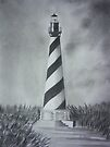 The Cape Hatteras Lighthouse by Mitch Adams