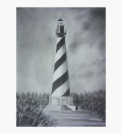 The Cape Hatteras Lighthouse Photographic Print