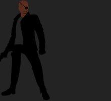 Nick Fury by alannamode