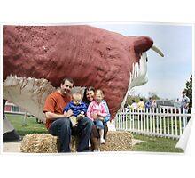 Farm Day Photos with Elmer Poster