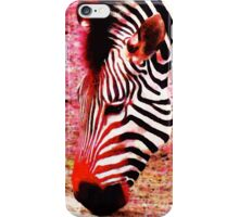 Colorful Zebra - Buy Black And White Stripes Art iPhone Case/Skin