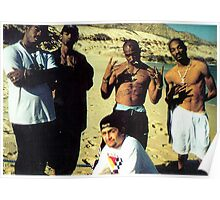 Snoop Dogg and 2Pac poster Poster