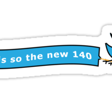 120 is so the new 140 Sticker