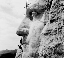 Mount Rushmore Construction Photo by warishellstore