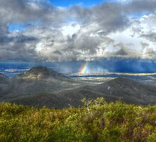 Rainbow View - Stirling Ranges - Western Australia by Ruth Tinley