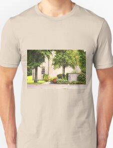 MacAllan Casks on the Side of Easter Elchies House T-Shirt