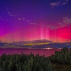 Aurora Australis the Southern Lights 2 by Russell Wiltshire