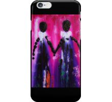 Best Friends Forever - BFF Love And Devotion Art iPhone Case/Skin