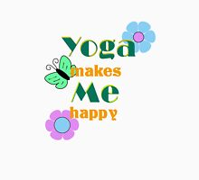 Yoga makes me happy Tank Top