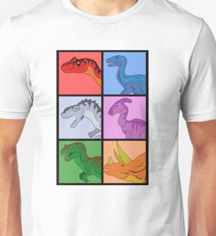 Dinosaur Squares Unisex T-Shirt