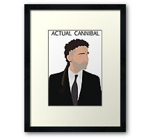 Actual Cannibal Framed Print