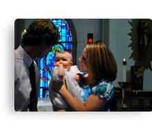 God Parents Canvas Print