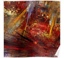 Abstraction Transfusium 3 Poster