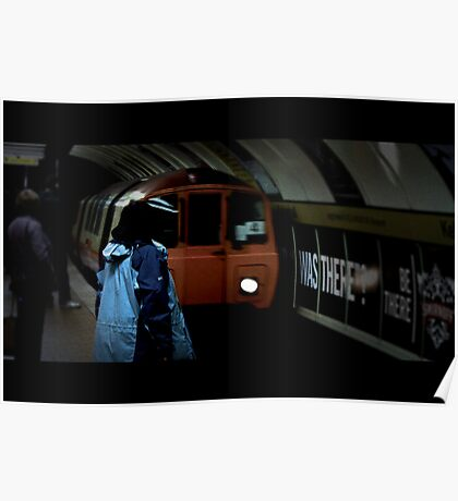 Cinematic subway Poster