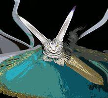 More Catnip Please!!! by Dmarie Becker