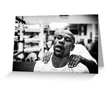 Money Mayweather Greeting Card