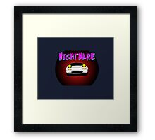 Nightmare miata Framed Print