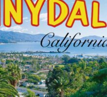Sunnydale Postcard Sticker