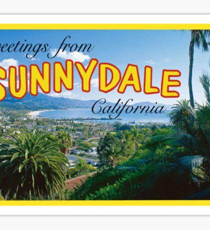 Sunnydale Postcard Sticker