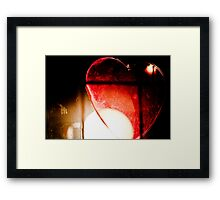 Caged Heart Framed Print