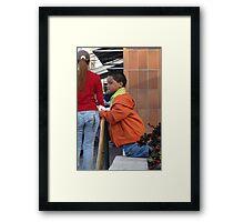 On Bended Knee ... Framed Print