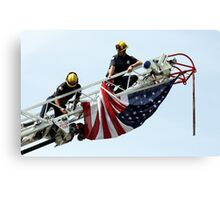 Unveiling The US Flag Canvas Print