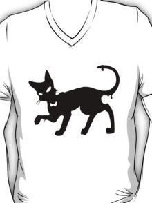 Angus the cat paint spot T-Shirt