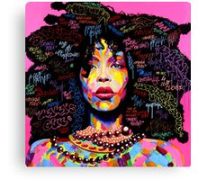 Miss Erykah Badu Canvas Print