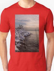 Clearing Snowstorm - Lake Ontario, Toronto, Canada Unisex T-Shirt