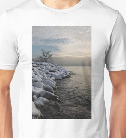 Clearing Snowstorm - Lake Ontario, Toronto, Canada Unisex T-Shirt