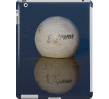 Volleyball Floating in the Muddy Water iPad Case/Skin