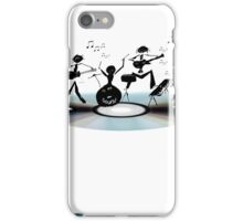 Sound Band - In the head iPhone Case/Skin