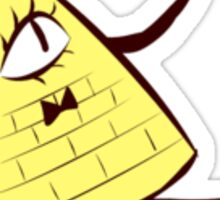 Bill Cipher Gravity Falls Sticker