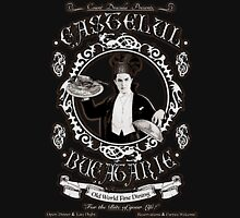 "Chef Dracula's Restaurant: ""For The BITE of your LIFE!"" (Vintage Sign) Unisex T-Shirt"