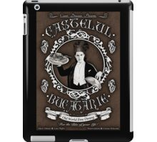 "Chef Dracula's Restaurant: ""For The BITE of your LIFE!"" (Vintage Sign) iPad Case/Skin"