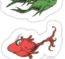 One Fish, Two Fish, Red Fish, Blue Fish Sticker
