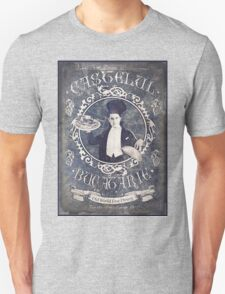 """Chef Dracula's Restaurant: """"For the BITE of your LIFE!"""" (Old Metal Sign) Unisex T-Shirt"""