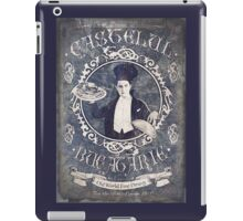 "Chef Dracula's Restaurant: ""For the BITE of your LIFE!"" (Old Metal Sign) iPad Case/Skin"