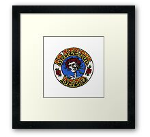 Grateful Dead Roses Framed Print