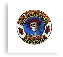 Grateful Dead Roses Canvas Print