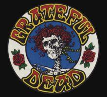 Grateful Dead Roses Kids Tee