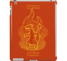 Not a Dragon iPad Case/Skin