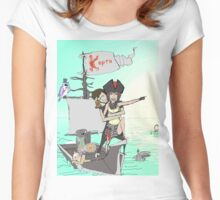Anywhere...Everywhere.. Women's Fitted Scoop T-Shirt