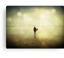 Return to the Waves Canvas Print