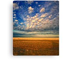 Tidal Pool & Sky Canvas Print