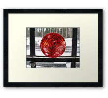 No Wood, Just Trees Framed Print